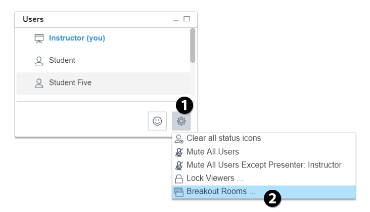 starting breakout room